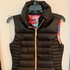 Lilly Pulitzer Packable puffer vest